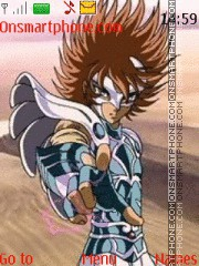 Saint Seiya Ikaro theme screenshot