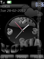 Nokia Black v1 By ROMB39 theme screenshot