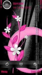 Pink Design theme screenshot