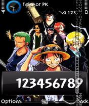Luffy es el tema de pantalla