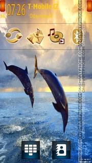 Bottlenose Dolphins theme screenshot