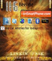 Скриншот темы Linkin Park v30