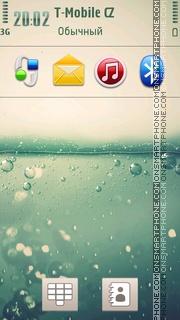 Bubbles 12 theme screenshot