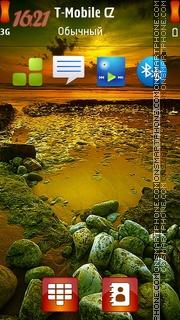 Sunset Sea 02 theme screenshot