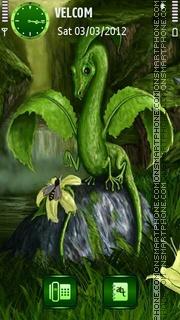 Spring Dragon theme screenshot