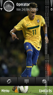Neymar tema screenshot
