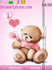 Love Bear 03 theme screenshot