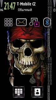Pirates Skull theme screenshot