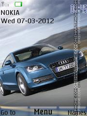 Animated Audi Car theme screenshot