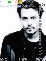 Johnny Depp 05 Theme-Screenshot