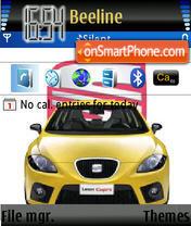 Seat Leon Cupra theme screenshot