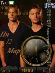 Winchester Bros tema screenshot
