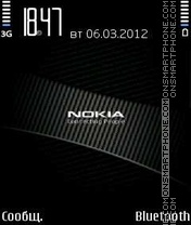 Nokia Black theme screenshot