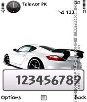 Скриншот темы White Honda