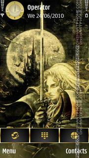 Capture d'écran Castlevania thème