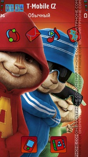 Chipmunks 04 theme screenshot
