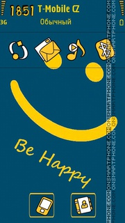 Be Happy 09 tema screenshot