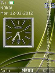 Clock theme screenshot