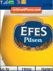 Efes Pilsen theme screenshot