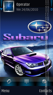 Subaru theme screenshot