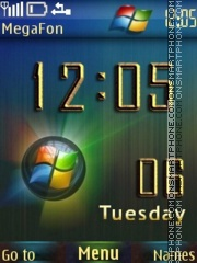 Windows theme screenshot