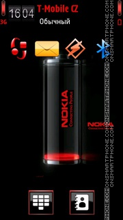 Nokia Battery 02 theme screenshot