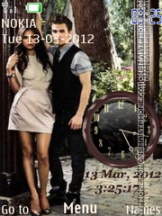 Elena and Stefan theme screenshot