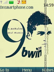 Cristiano Ronaldo Hd theme screenshot