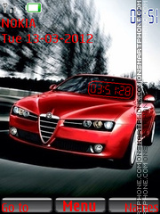 Alfa Romeo 150 theme screenshot