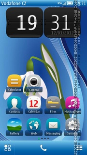 Galantus 01 theme screenshot