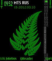 Green theme screenshot
