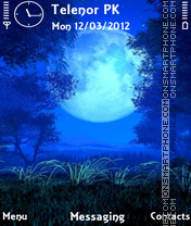 Dark Night tema screenshot