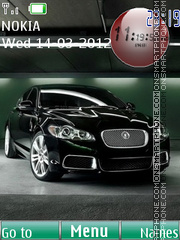 Jaguar 11 theme screenshot