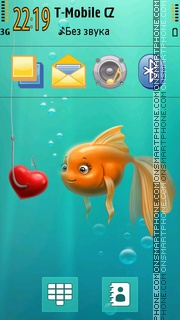 Aqualove tema screenshot