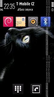 Black Cat 13 theme screenshot