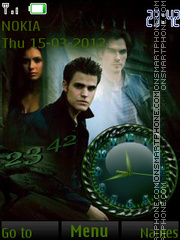 Vampire Diaries Theme-Screenshot