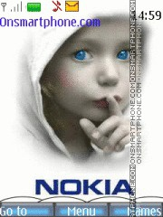 Nokia Kinder tema screenshot