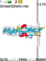 The Smurfs 04 theme screenshot