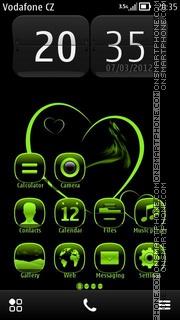 Green Heart 03 theme screenshot
