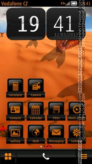 Pisces 11 theme screenshot