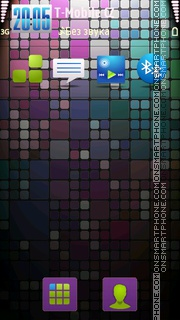Cubic tema screenshot
