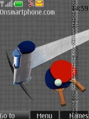 Table Tennis 01 theme screenshot