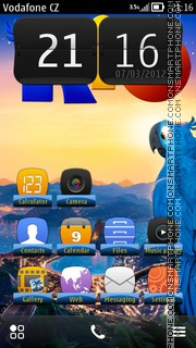 Rio 09 theme screenshot