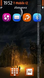 Camp Fire theme screenshot
