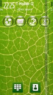Asifcycles water drops tema screenshot