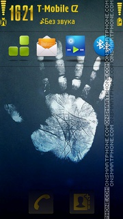 Hand 02 tema screenshot