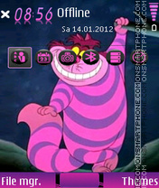 Cheshire 01 theme screenshot