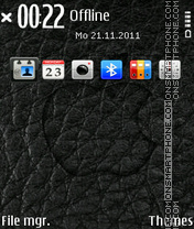 Lather apple theme screenshot