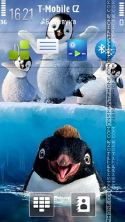 Happy Feet 2 theme screenshot