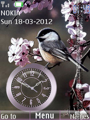 Little bird theme screenshot